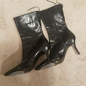 Leather boots by vero cuoio